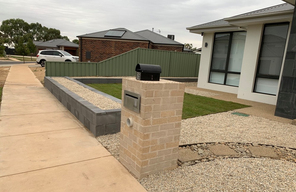 landscaping in north Shepparton